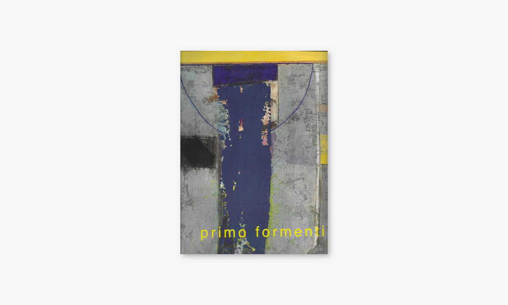 PRIMO FORMENTI – OPERE 1968/1998 (1998)