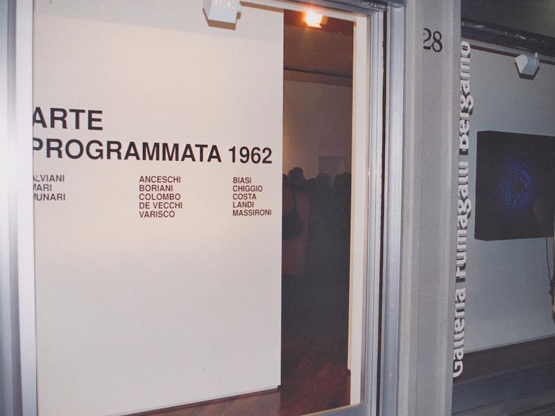 ARTE PROGRAMMATA 1962