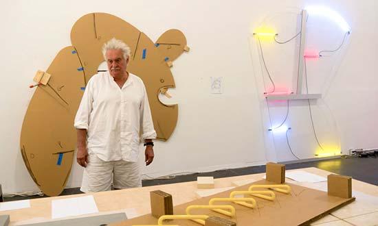 GALLERIA FUMAGALLI REPRESENTS ARTIST KEITH SONNIER