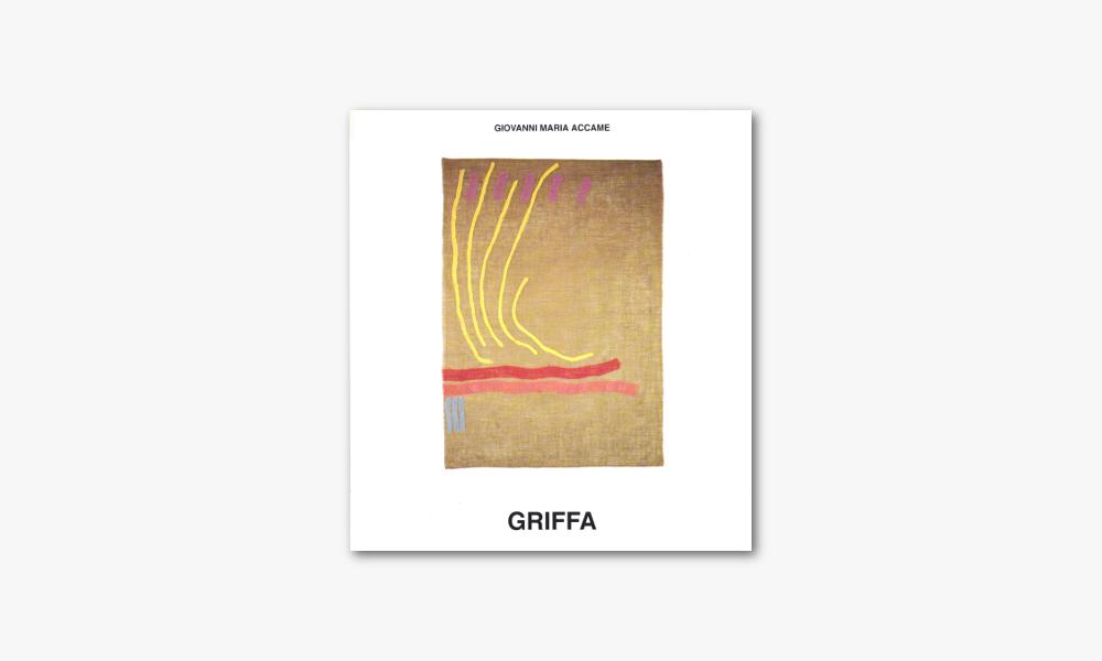 GIORGIO GRIFFA – L'ORIGINE PROFONDA (1995)