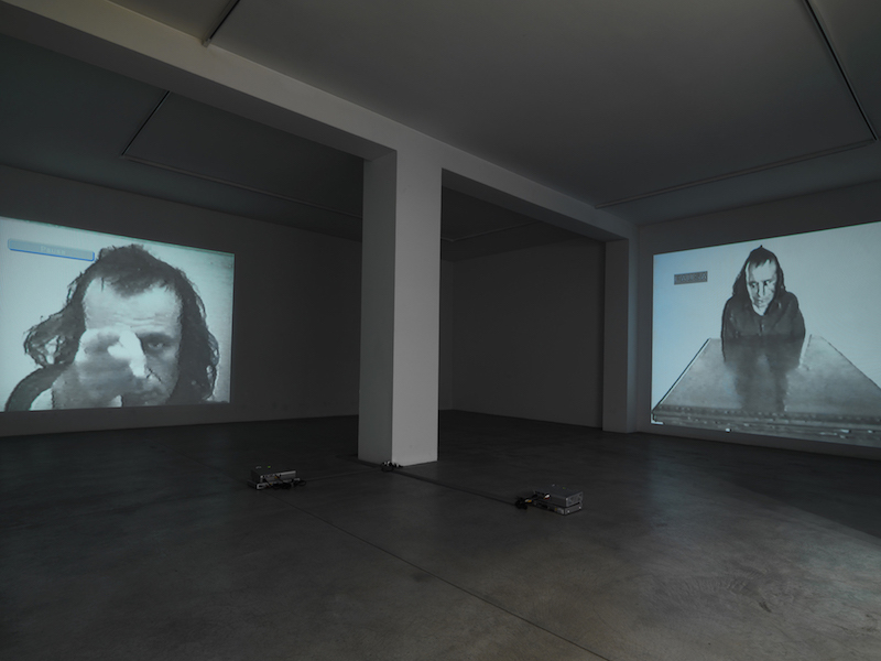 VITO ACCONCI – SPACE OF THE BODY – OPERE 1969/1986