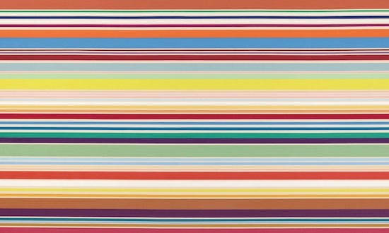 SPILLING OVER: PAINTING COLOR IN THE 1960s – KENNETH NOLAND